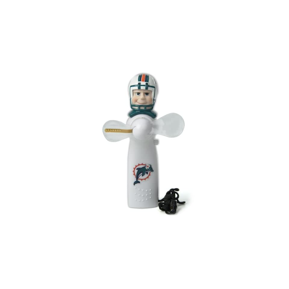 Pack of 5 NFL Miami Dolphins Magical LED Light Up Portable Fans
