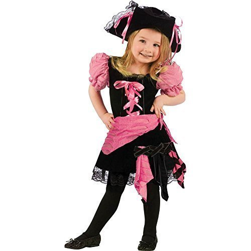 Pink Punk Pirate Toddler Costume by Fun World Costumes