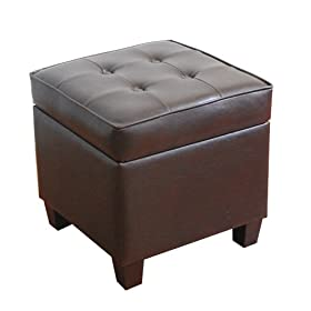Kinfine Square Tufted Storage ottoman