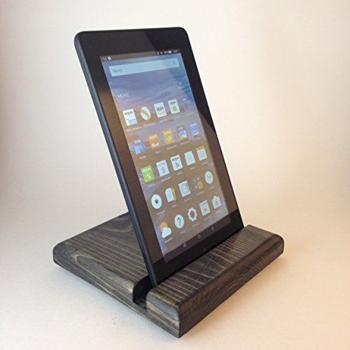 Handcrafted Wooden Iphone | Galaxy | Kindle | Electronic Device Stand for Home or Office.