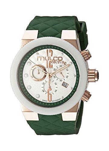 Mulco Mujeres MW5-2552-483 Couture Analog Display Suizo cuarzo Verde Reloj