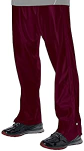 Buy Alleson Youth Basketball Breakaway Warm-Up Pants MA - MAROON YL by Alleson Athletic