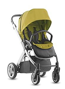 Joovy Qool Silver Single Stroller, Avocado