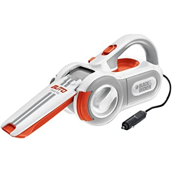 The Black & Decker PAV1200W with exclusive pivoting action provides easy access to the hard to reach places in your car.  It's Cyclonic Action means the filter stays clean; power stays strong and it's 1 step empty means your hands don't touch the dir...