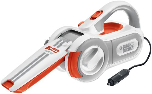 Black & Decker PAV1200W 12-Volt Cyclonic-Action Automotive Pivoting-Nose Handheld Vacuum Cleaner (Battery Vacum Cleaners compare prices)
