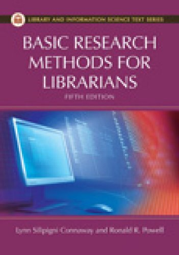 Basic Research Methods for Librarians (Library and...