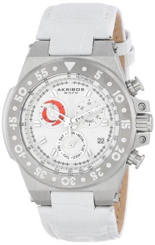 Akribos XXIV White Ladies Watch AK667SSW