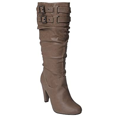 Brinley Womens High Heel Slouch Boot