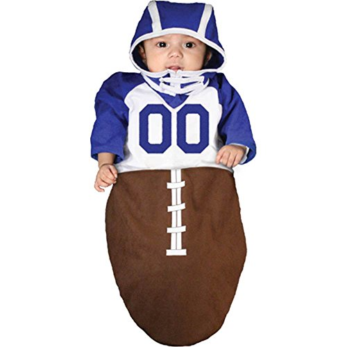 Football Touchdown Bunting Costume - 0-6 Months