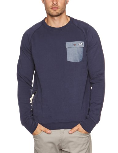 Weekend Offender Canseco Men's Jumper Indigo Small