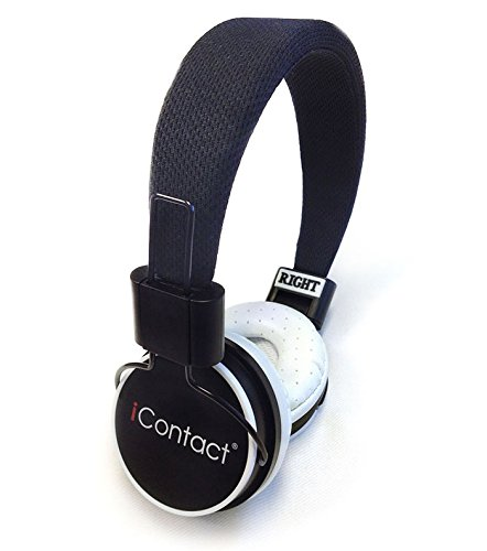 iContact IC-HP200 – Multipurpose Wired Headphone with Built-in Microphone and One-Touch Playback Control – Black