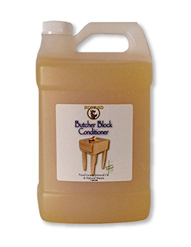 Howard Butcher Block Condtioner, Enriched with Orange Oils, Food Grade with Vitamin E Butcher Block Oil & Conditioner, Cutting Board Oil, Mineral Oil for Cutting Boards 1 Gallon Size (Butcher Block Oil Organic compare prices)