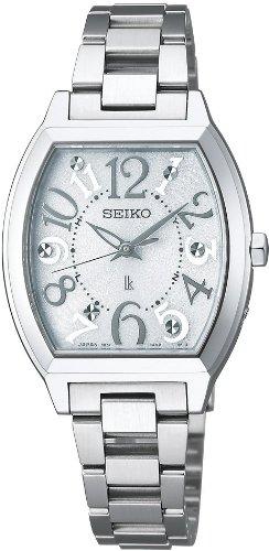 [セイコー]SEIKO 腕時計 LUKIA ルキア ソーラー電波 ホワイト SSVE047 レディース