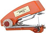 byc Mini Stapler Style Hand Sewing Machine for Quick and Easy Sewing (Orange)
