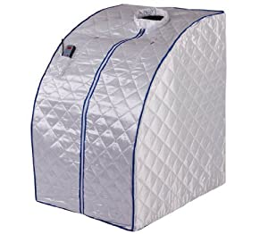 Far Infrared FIR Portable Foldable Spa Sauna Detox Ion, SI01 by FIT FOR GOOD