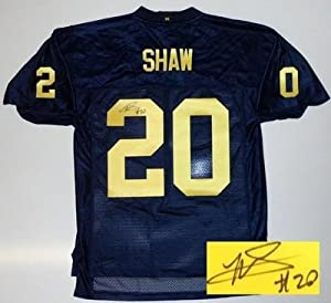 Michael Shaw Signed Michigan Wolverines Jersey by Sports+Memorabilia