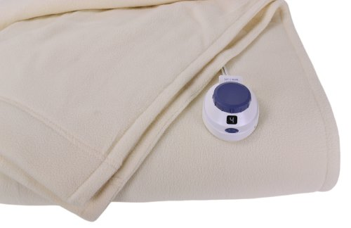 Learn More About Soft Heat Luxury Micro-Fleece Low-Voltage Electric Heated Twin Size Blanket, Natura...