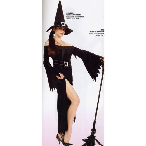 Rubies Womens Wicked Witch Costume - Medium