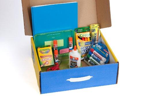 School Tool Box Kindergarten Super School Supplies Kit in Keepsake Box