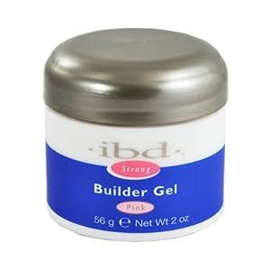 IBD 60412 Builder Gel, Pink, 2 Ounce
