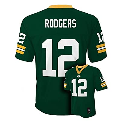 Aaron Rodgers Green Bay Packers Green NFL Youth 2016-17 Season Mid-tier Jersey