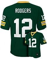 Aaron Rodgers Green Bay Packers Green NFL Kids 2015-16 Season Mid-tier Jersey