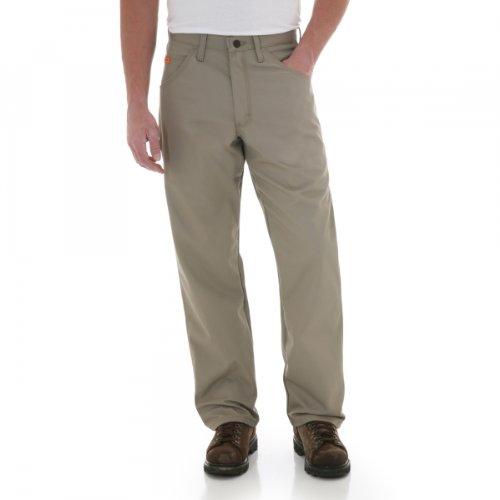 Wrangler Men'S Fire-Resistant Riggs Jeans Carpenter Relaxed Fit Indigo 42W X 32L