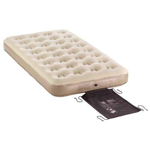 twin blow up mattress: COLEMAN COMPANY 5998M300 74x40x9.5 ...