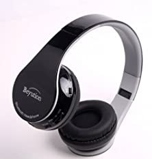 buy New Black Stereo Hi-Fi Wireless Bluetooth 4.0 Headphones Headset With Retail Package--Usa Seller Quick Shipping!