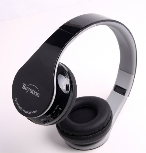 New Aec@Brand Smart Stereo Wireless Bluetooth Headphone With Microphone For Mobile Cell Phone Laptop Pc Tablet, Such As Works W/ Ipod, Ipad, Iphone, Android Devices