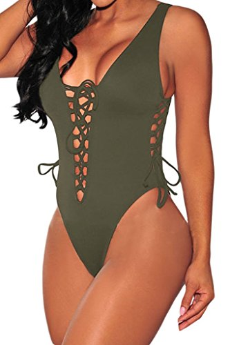 hotapei-women-v-neck-lace-up-high-cut-one-piece-bathing-suit-large-army-green