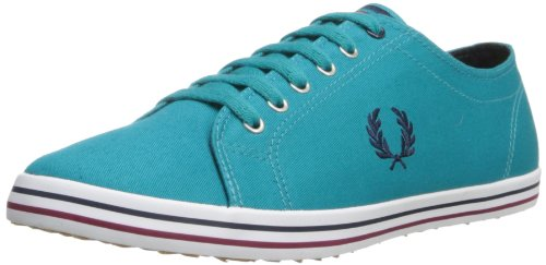 Fred Perry - Low-top Uomo , Blu (Bright Lagoon), 40