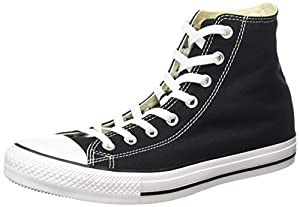Converse Chuck Taylor All Star, Unisex-Erwachsene Hohe Sneakers, Schwarz (M9160 Schwarz), EU 44.5 EU