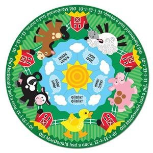 Cheap S&S Worldwide Farm Friends Circular Floor Puzzle (B002BACJZ6)