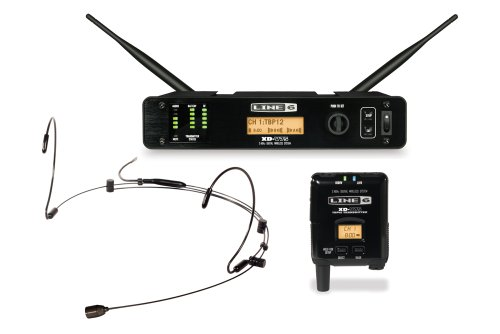 Line 6 Xd-V75Hs Digital Wireless System With Bodypack Transmitter And Tan Headset
