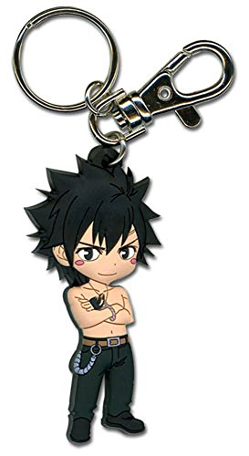 Key Chain - Fairy Tail - New SD Gray 2 Arms Cross Toys Anime Gifts ge36792