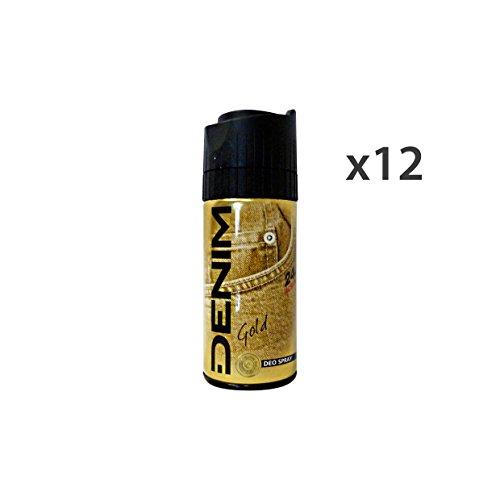 Set 12 DENIM Deodorante Spray GOLD Cura del corpo