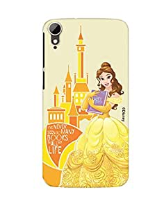 Pick Pattern with Exclusive DISNEY Characters Back Cover for HTC Desire 828 dual sim