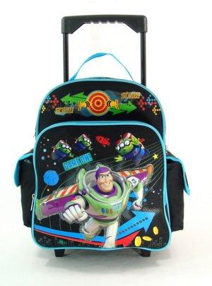 Small Score Buzz Lightyear Rolling Backpack -
