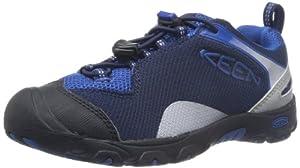 KEEN Jamison Hiking Shoe (Toddler/Little Kid/Big Kid),Black Iris/Olympian Blue,2 M US Little Kid