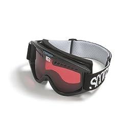 Scott Performance Goggles Black Frame / Night Amplifier Lens