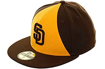New Era San Diego Padres Brown and Gold Cap