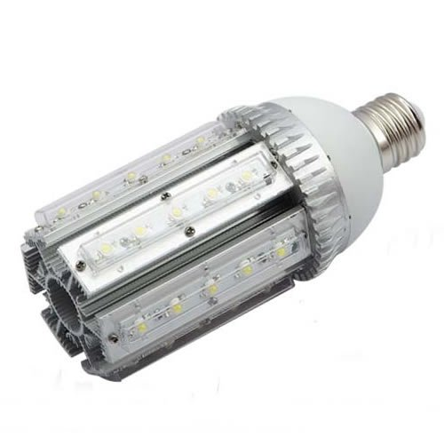 Brightsky E40 30W White Led Street Lamp Courtyard Wall Pack Canopy Bulb Retrofit Light Model B