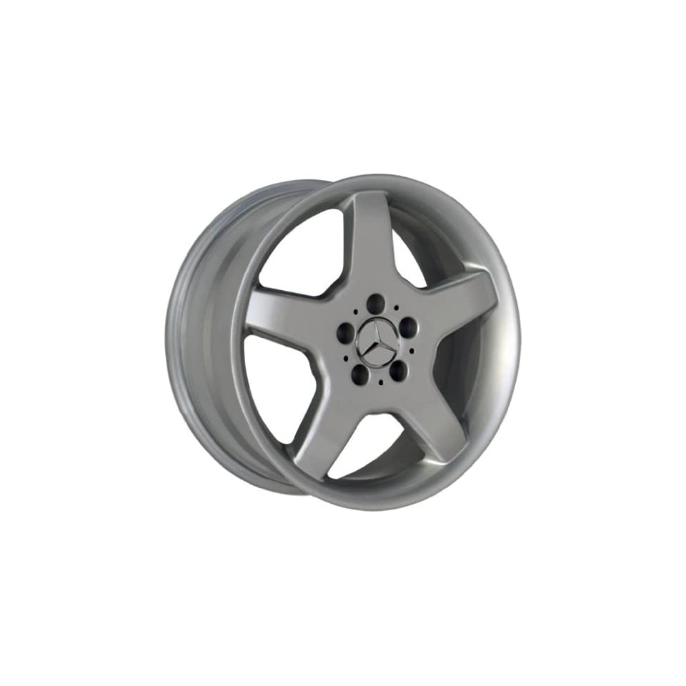 (4) SILVER 18 INCH MERCEDES BENZ WHEELS RIMS