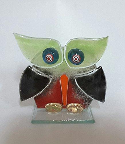 vetrotiffany-alcoa-objet-de-decoration-hibou-en-verre-fusionne