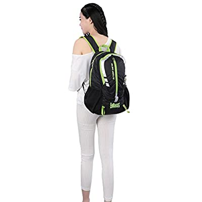ENKNIGHT 28L Unisex Lightweight Foldable Waterproof Travel Backpack Hiking Daypack