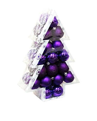 Decoracion Navideña Set Colgante decorativo 34 Uds. Árbol Navidad