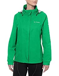 Vaude Escape rain jacket womens Ladies Light green Size 36 2014