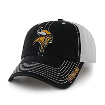 NFL Minnesota Vikings Mens Ripley Cap, One Size, Black by