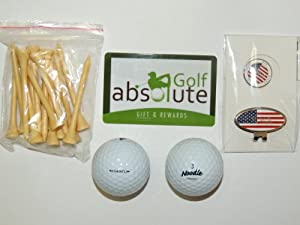 36 Maxfli Noodle Mix Recycled Golf Balls Grade A With Free Tee